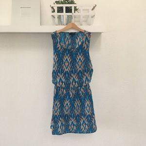 LovePosh Ikat Print Dress
